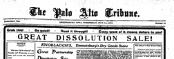Emmetsburg Palo Alto Tribune newspaper archives