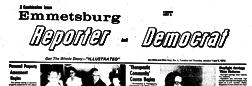 Emmetsburg Reporter And Democrat newspaper archives