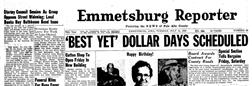 Emmetsburg Reporter newspaper archives
