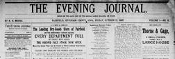 Fairfield Evening Journal newspaper archives