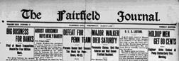 Fairfield Matrimonial Register St Mary newspaper archives