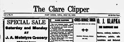 Fort Dodge Barnum Booster newspaper archives