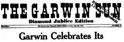Gladbrook Garwin Sun newspaper archives