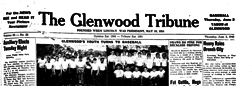 Glenwood Tribune newspaper archives