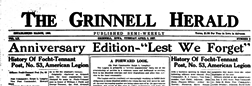 Grinnell Herald newspaper archives