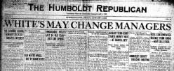Humboldt Republican newspaper archives
