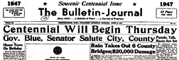 Independence Bulletin Journal newspaper archives