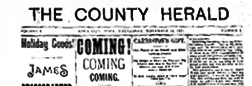Iowa City County Herald newspaper archives