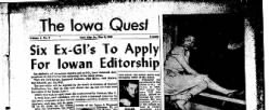 Iowa Quest newspaper archives