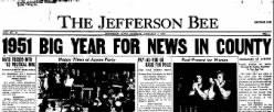 Jefferson Bee newspaper archives