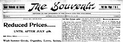 Jefferson Souvenir newspaper archives