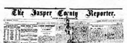 Kellogg Jasper County Reporter newspaper archives