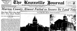 Knoxville Journal newspaper archives