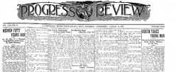 Progress Review newspaper archives