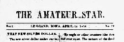 Le Grand Amateur Star newspaper archives