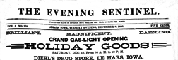 Evening Sentinel newspaper archives