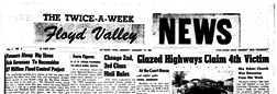Floyd Valley News newspaper archives