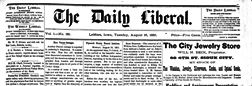 Le Mars Daily Liberal newspaper archives