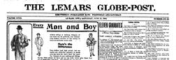 Le Mars Globe Post Lemars Iowa newspaper archives