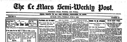 Le Mars Semi Weekly Post newspaper archives