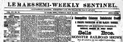 Le Mars Semi Weekly Sentinel newspaper archives