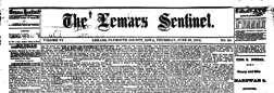 Le Mars Sentinel newspaper archives