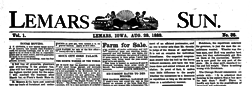 Le Mars Sun newspaper archives