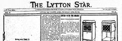 Lytton Star newspaper archives