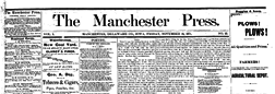Manchester Press newspaper archives