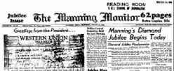 Manning Monitor newspaper archives