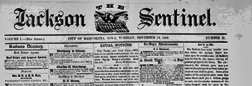 Maquoketa Jackson Sentinel newspaper archives