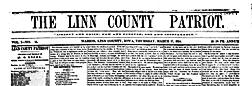 Linn County Patriot newspaper archives