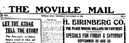 Moville Mail newspaper archives