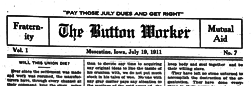 Muscatine Button Worker newspaper archives