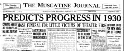 Muscatine Journal And News Tribune newspaper archives