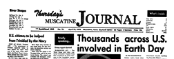 Muscatine Thursday Muscatine Journal newspaper archives