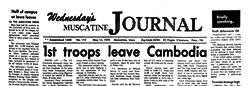 Muscatine Wednesday Muscatine Journal newspaper archives