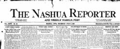 Nashua Reporter newspaper archives