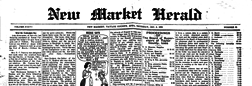 New Market Herald newspaper archives