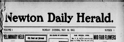 Newton Daily Herald newspaper archives