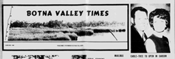 Oakland Botna Valley Times newspaper archives
