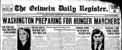 Oelwein Daily Register newspaper archives