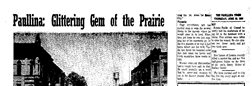 Paullina Times newspaper archives