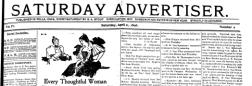 Pella Advertiser newspaper archives