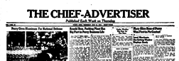 Perry Chief Advertiser newspaper archives