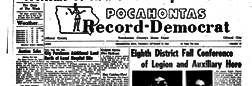 Atllas Of Pocahontas County Iowa newspaper archives