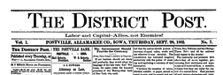 Postville Post newspaper archives