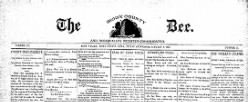 Sioux County Bee And Rock Valley Register newspaper archives