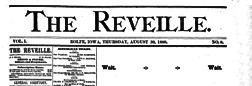 Rolfe Reveille newspaper archives