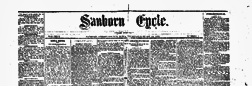 Sanborn Cycle newspaper archives